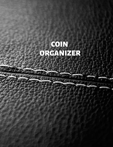 Coin Organizer: Coin Albums, Large 100 Pages, Practical and Extended 8.5 X 11 Inches