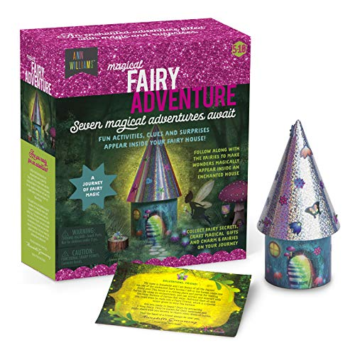 Magical Fairy Adventure – Fun Activities, Surprises, and Clues Magically Appear in an Enchanted Fairy House