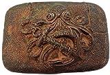 Brazil Lederwaren Gürtelschnalle Being Rusty 4,0 cm | Buckle Wechselschließe Gürtelschließe 40mm Massiv | Für Wechselgürtel bis zu 4cm Breite
