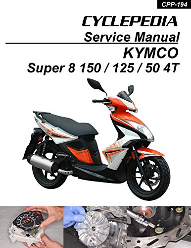 2008-2012 Kymco Super 8 Scooter Service Manual (English Edition)
