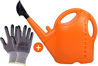 NYKK Plant Watering Cans Watering Can 9 Liters Large Capacity Household Watering Pot Thickening Gardening Tools Watering C...