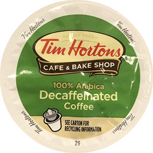Tim Horton's Single Serve Coffee Cups, Decaffeinated,...