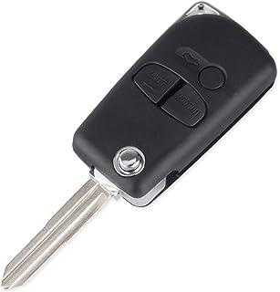 مفتاح سيارة عن بعد، لجهاز ميتسوبيشي باجيرو سبورت أوتلاندر جرانديس ASX 2/3 أزرار قابلة للطي وقابلة للطي عن بعد