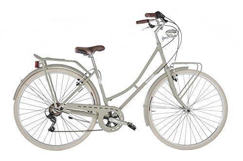 Alpina Bike Viaggio 28', Bicicletta Donna, Grigio Ghiaia, 6v