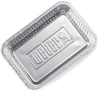 "Weber Small Drip Pans Aluminum 8.5"" X 6"" - Pack of 10"