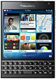 BlackBerry Passport 32GB Factory Unlocked (SQW100-1) GSM 4G LTE Smartphone - Black (International Version, Blackberry OS) (Renewed)