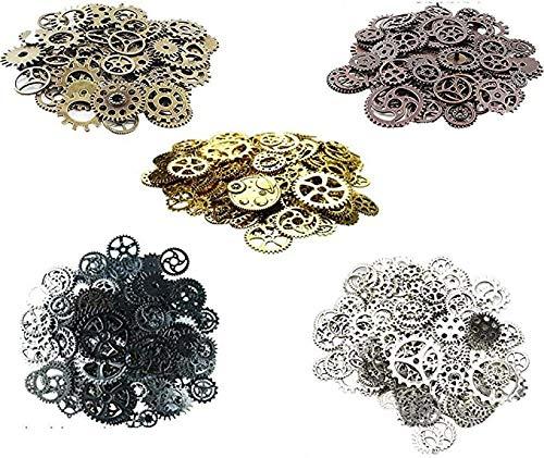 Awtlife 300 Gram Assorted Vintage Antique Steampunk Gears