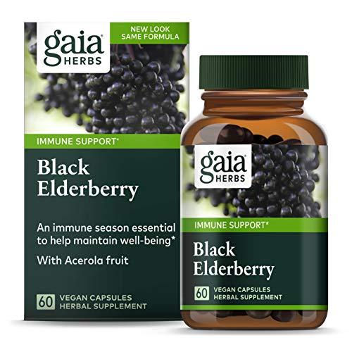 Gaia Herbs, Black Elderberry, Organ…
