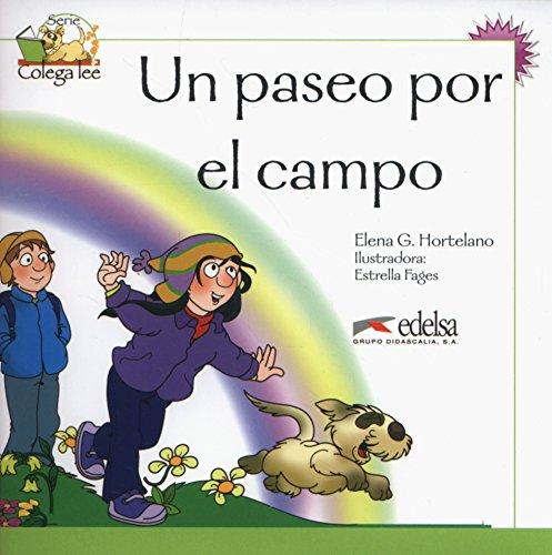 Colega lee 2 - 5/6 un paseo por el campo: Un paseo por el campo (reader level 2) (Lecturas - Niños - Colega lee - Nivel A1)