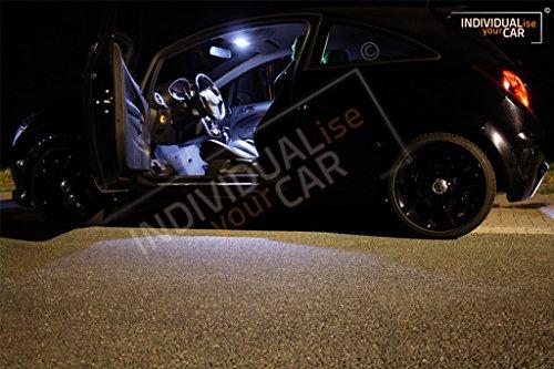Innenraumbeleuchtung SET für Corsa D 3-Türer (Cool-White)