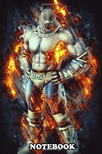 Notebook: King Tekken , Journal for Writing, College Ruled Size 6' x 9', 110 Pages
