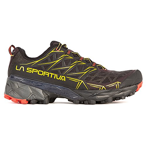 La Sportiva Men's Akyra Mountain Running Shoe, Black, 44.5 M EU
