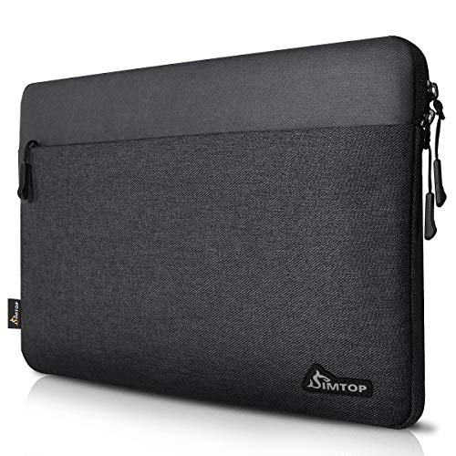 SIMTOP Universal 14 Inch Laptop Sleeve Case Compatible for 15' 2016 New MacBook Pro USB-C Touch Bar A1990/A1707, Compatible for Thinkpad Dell HP Chromebook