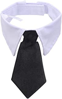 BERYLX - Collar con Pajarita para Mascota, Collar con Corbata, Cuello de Perro, Gato, Pajarita con Ajustable para Accesorios de Aseo para Gatos y Cachorros