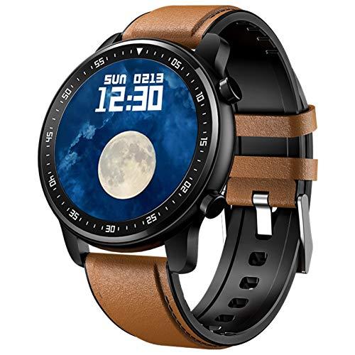 MT1 Smart Watch, Bluetooth Smartwatch mit Musik Play, Anruf, Lautsprecher, Sport-Modi, Informationserinnerung, Remote-Fotoaufnahme, Herren Smart Armband