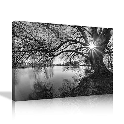 Modern Large Panel Canvas Painting Wall Art the Pictures Photo for Home Decor Black