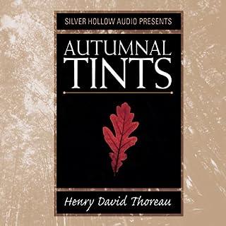 Autumnal Tints audiobook cover art