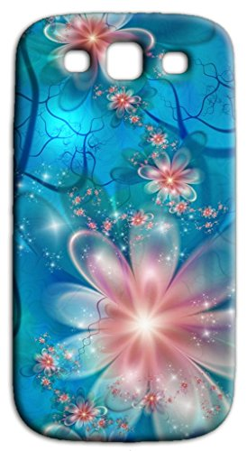 Mixroom - Cover Custodia Case in TPU Silicone Morbida per Samsung Galaxy S3 Neo i9301 i9300 Q245 Fantasia a Fiori