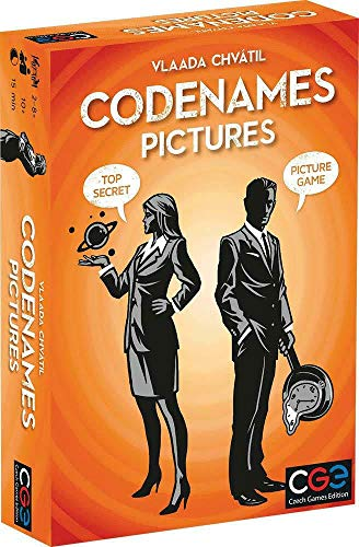 Czech Games Edition Juego de Cartas Codenames