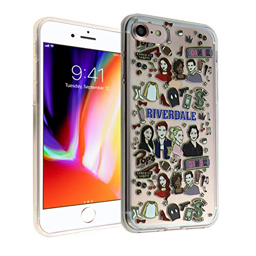 iPhone 7 8 CASEMPIRE Riverdale TPU Case Shock Proof Never Fade Slim Fit Cover for iPhone 7 8 Southside Serpents
