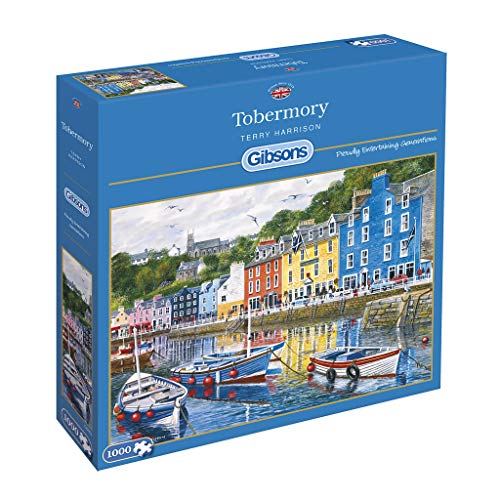 Gibson Games TOBERMORY 1000 Teile Puzzle