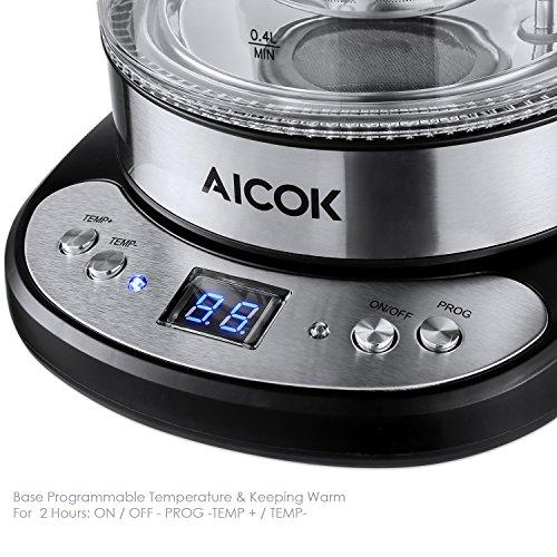 AICOK MD-326T Théières électriques, 2200 W, 1.7 liters