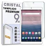 REY, Protector de Pantalla para ALCATEL PIXI 3 10.0', Cristal Vidrio Templado Premium Táblet