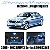 XtremeVision LED for BMW 3 Series E90 E92 M3 2006-2012 (14 Pieces) Cool White Premium Interior LED Kit Package + Installation Tool