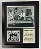 Legends Never Die The Rat Pack Group Pool Table Collectible | Framed Photo Collage Wall Art Decor - 12'x15'