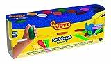 Jovi - Soft dough Blandiver, pack de 10 botes 110 g, colores surtidos (410 S)