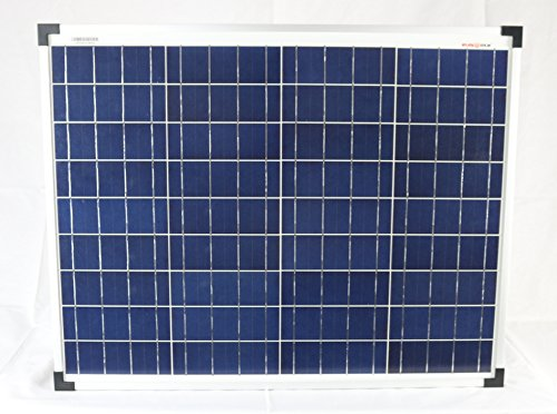 50 Watt Solarmodul Polykristallin 12V Solarpanel Solarzelle 50W
