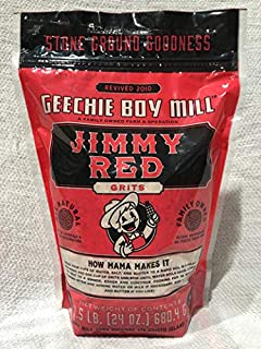 Geechie Boy Mill Jimmy Red Grits, 24 Ounce Bag