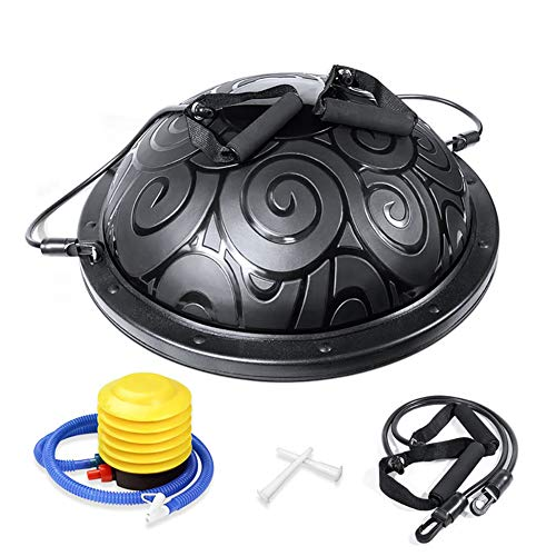 Buy Cheap ZHLXZ Balance Traine, Anti-Burst Yoga Half Ball,with 2 Resistance Bands and Pump,for Yoga ...
