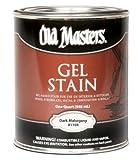 Old Masters 81116 Oil Base Gel Stain, 1/2 Pint, Dark Mahogany