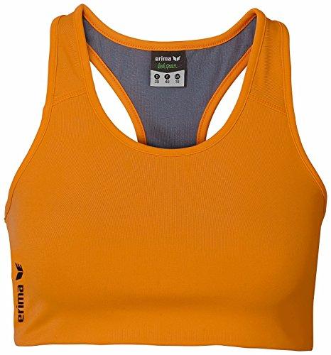 erima Damen Bra Green Concept, Orange Pop, 38