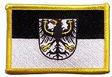 Flaggenfritze Flaggen Aufnäher Ostpreußen Fahne Patch +