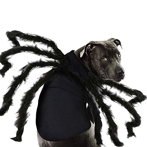 Camlinbo Halloween Costume for Pets Dogs Spiders Sweatshirt Cosplay Apparel Clothes Pets Dogs...