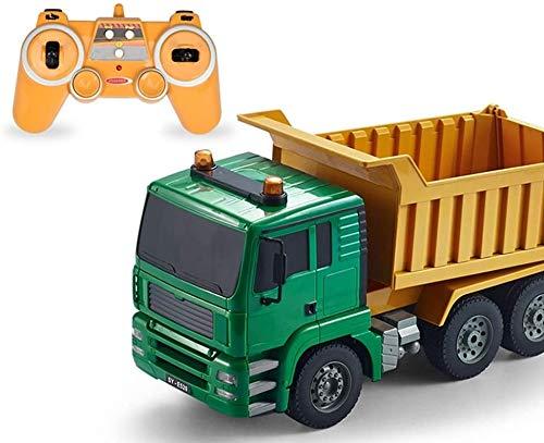 Darenbp Control remoto Coche de construcción 2.4GHz Truck RC CAR RC FAST DRIFT Coche Coche de alta velocidad RC Seguimiento Monster Truck Carreras eléctricas Coche para niños y adultos Niños Niños Niñ
