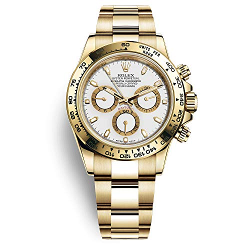 Rolex Daytona Yellow Gold / 116508-0001 / White Dial