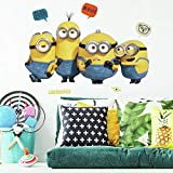 RoomMates Minions 2 Peel And Stick Giant Wall Decals