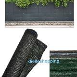 Malla de sombreo, 90% de ocultación, 4 x 10 m, tela...