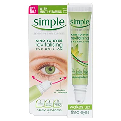 Simple Kind To Eyes Revitalising Eye Roll On 15 ml