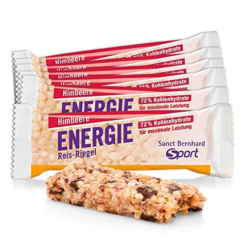 Sanct Bernhard Sport Energie Reis-Riegel Himbeere 11er-Pack