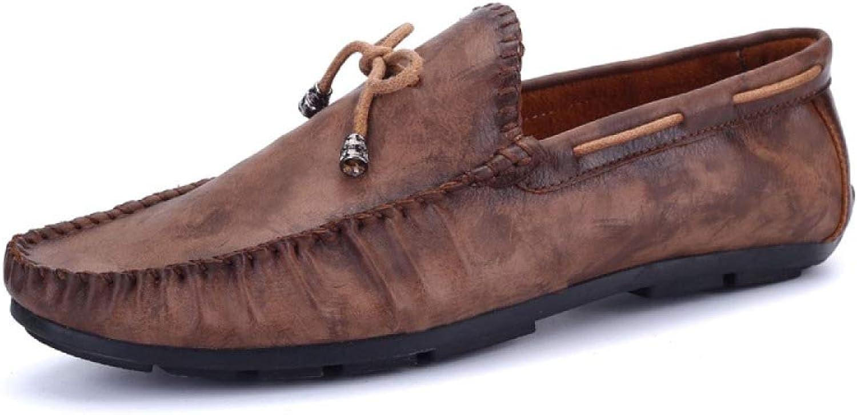 Men's shoes Fashion Breathable Soft Leather shoes