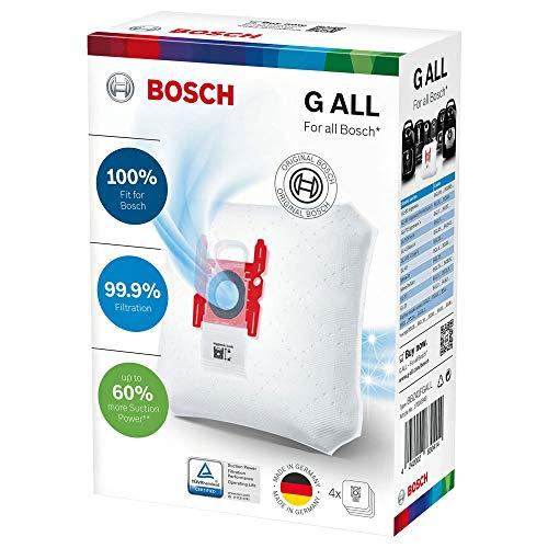 PakTrade 4 Staubsaugerbeutel Für Bosch PowerProtect Staubbeutel Type G All - BBZ41FGALL - 17000940-0017000940 - 468383-00468383