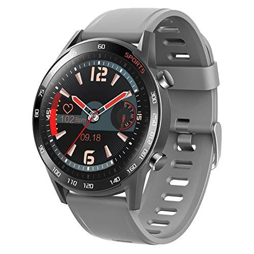 QKA Reloj Inteligente, Temperatura Corporal, Monitor De Frecuencia Cardíaca, IP68 Impermeable, Smartwatch, Pulsera Inteligente De Las Mujeres, Pulsera Inteligente para Android iOS,B