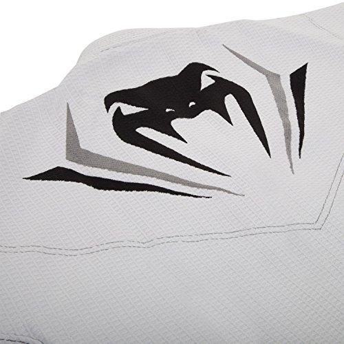 Venum Elite BJJ GI A0, White/Silver, A0
