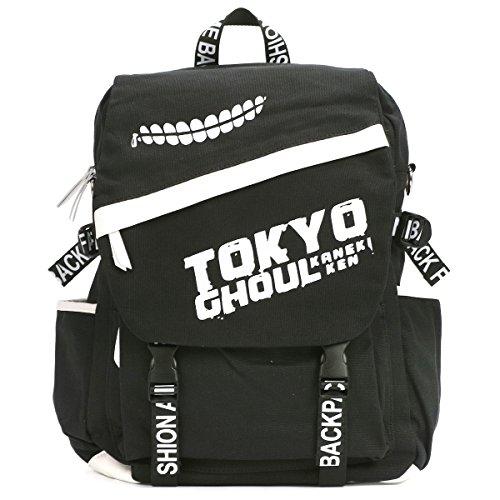 CoolChange Mochila de Tela Tokyo Ghoul con Piel PU