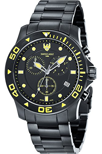 Swiss Eagle SE-9001-66_Nero- - Reloj para Hombres