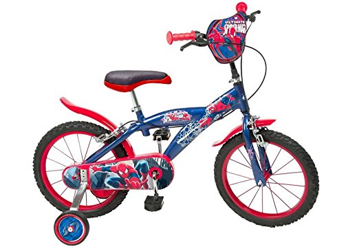 "16 16\""Zoll Kinderfahrrad Kinder Disney Jungen Fahrrad Rad BMX Spiderman Bike ES"